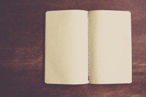 notebook-empty-paper-designer-table-book-open